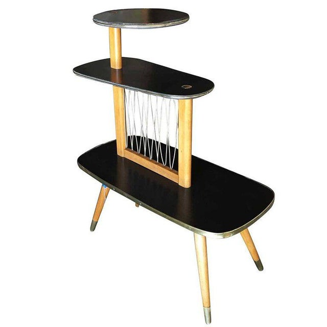 1950s 1950s Three-Tier Midcentury String Art Center Side Tables - Set of 3 For Sale - Image 5 of 11