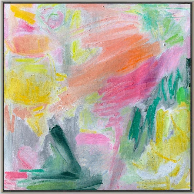 "2020s ""April Mist"" by Trixie Pitts Abstract Oil Painting For Sale - Image 5 of 13"