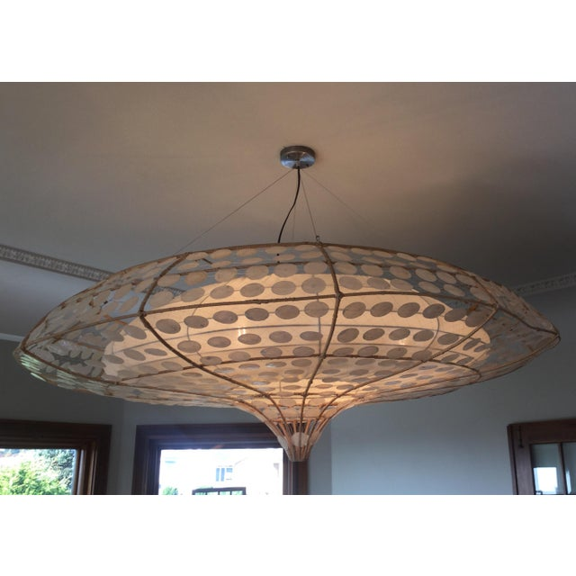 Balinese-Style Chandelier For Sale - Image 7 of 8