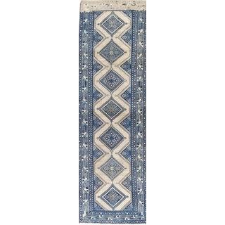 Vintage Mid-Century Persian Runner Rug - 3′5″ × 11′5″ For Sale