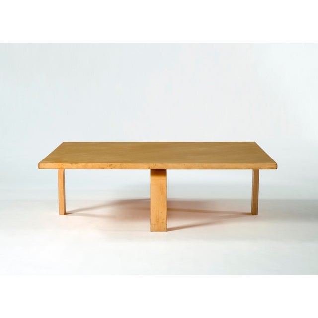 Poul Kjaerholm PK 66 laminated maple coffee table For Sale - Image 4 of 5