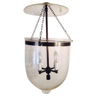 Glass Transitional Acorn Chandelier