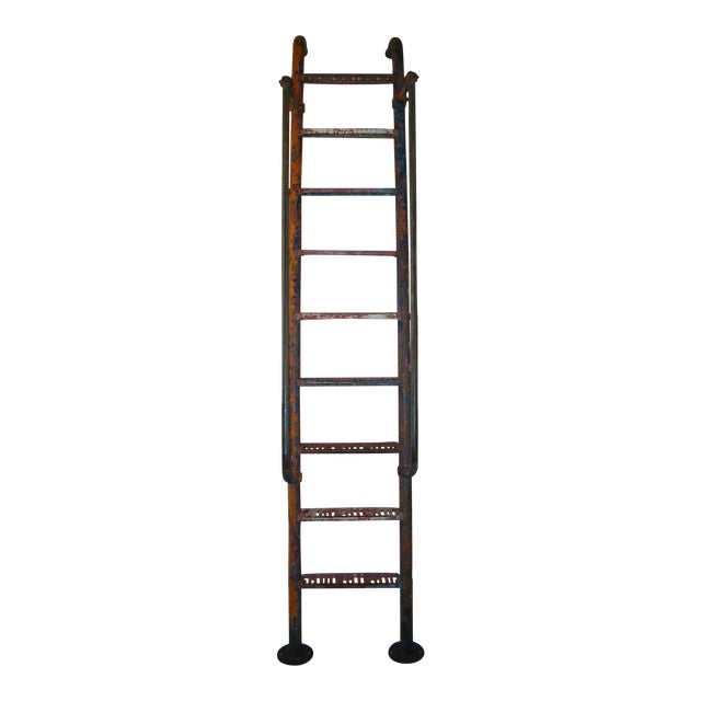 Vintage Steel American Playground Ladder For Sale - Image 11 of 11