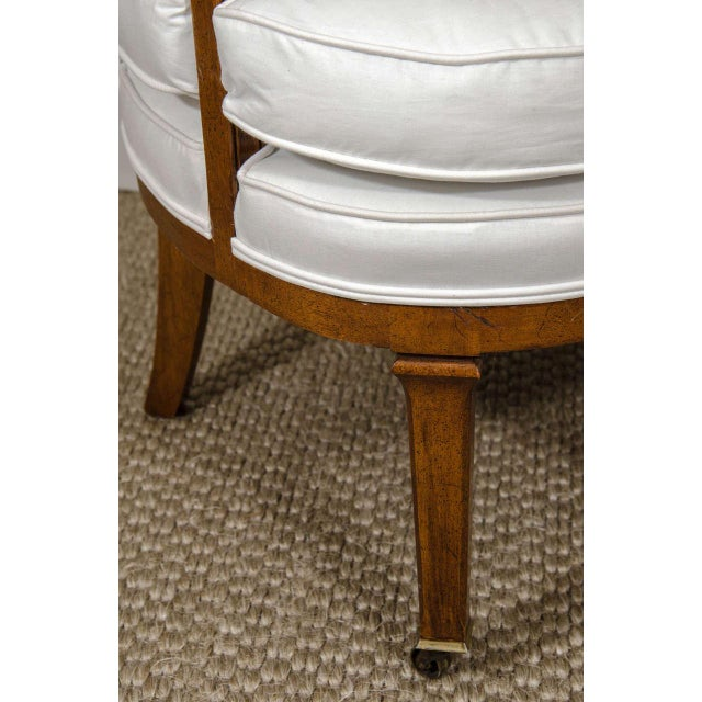 Vintage Barrel Back Chair - Image 2 of 7