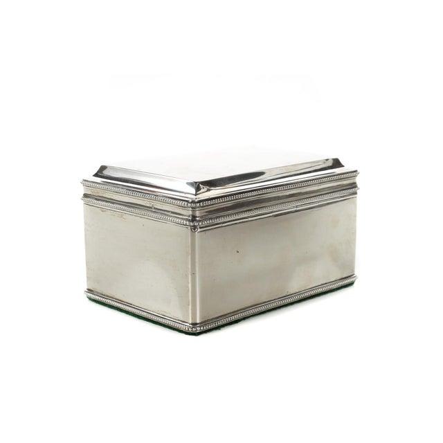 Dutch Silver Biscuit Box Mark of Bonebakker For Sale In Los Angeles - Image 6 of 9