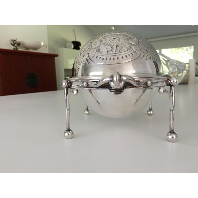 William Hutton & Sons Domed Silver Warming Dish - Image 8 of 10