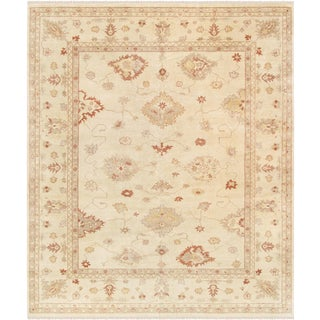 """Pasargad Oushak Lamb's Wool Area Rug- 12' 0"""" X 14' 6"""" For Sale"""