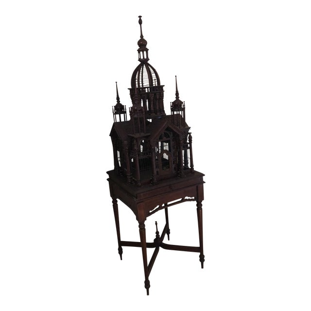 Antique Victorian Birdcage - Image 1 of 9