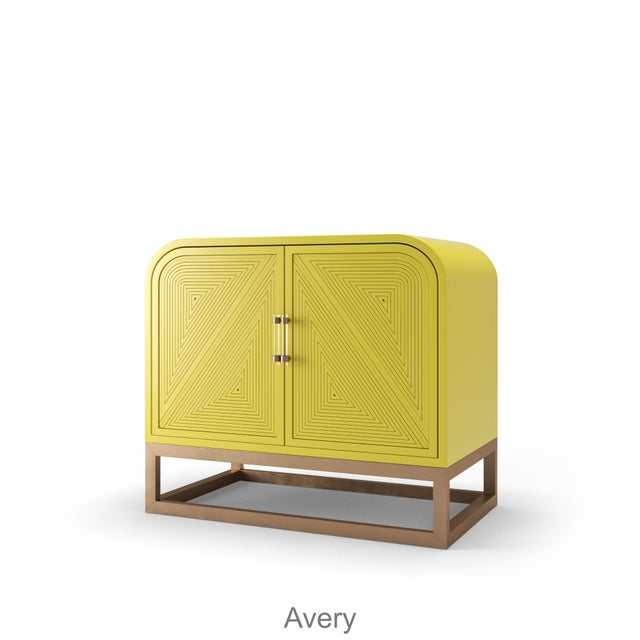 Not Yet Made - Made To Order Avery Credenza - Citron For Sale - Image 5 of 5