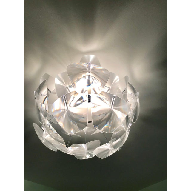Hope Modernist Ceiling Light With Reflective Prisms by Luceplan, Italy 2018 For Sale - Image 4 of 13