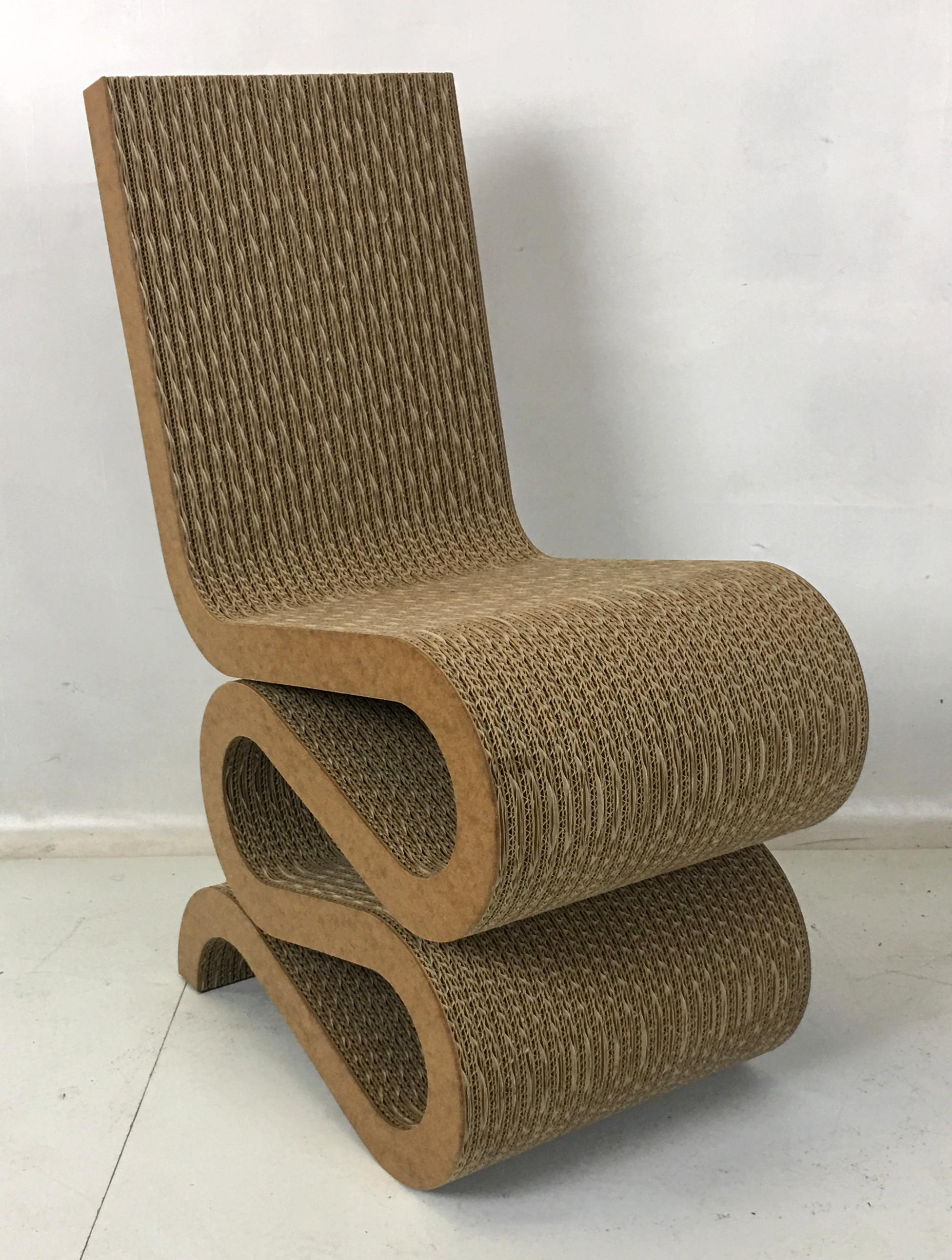 Frank Gehry Wiggle Chair By Frank Gehry For Vitra For Sale   Image 4 Of 6