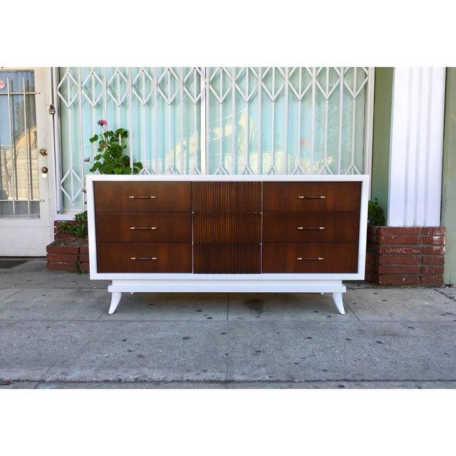American of Martinsville Vintage Dresser - Image 5 of 5