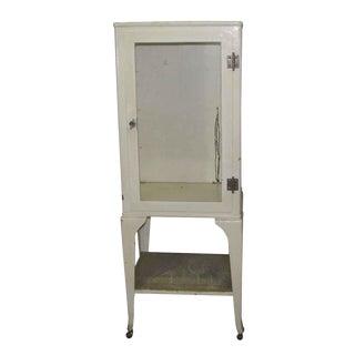 Vintage Medical Cabinet on Wheels