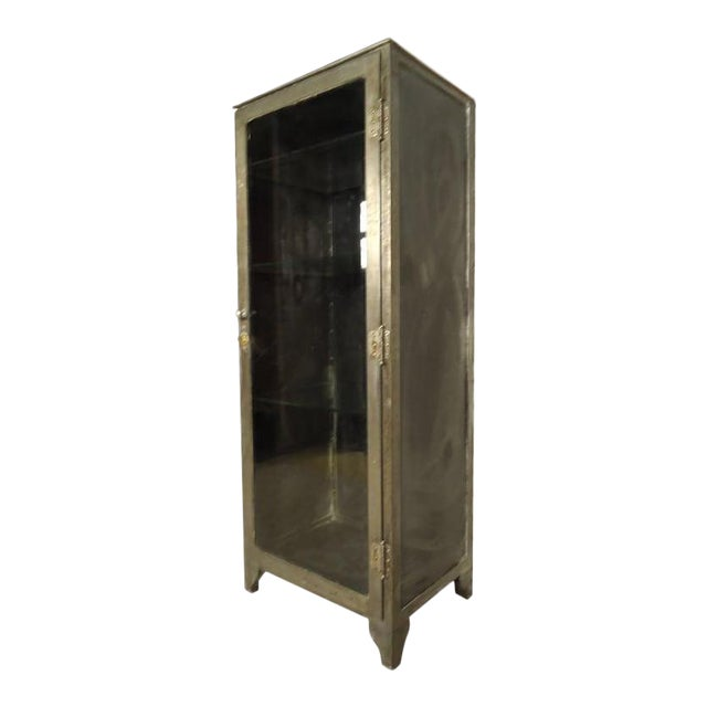 Industrial Metal Display Cabinet - Image 1 of 9