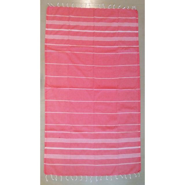 Strawberry Fisherman Striped Towalla Towel - Image 2 of 7