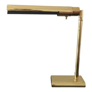 Vintage Koch & Lowy for Omi Brass Articulating Desk Lamp For Sale