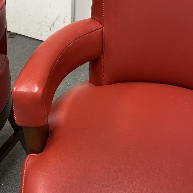 Wood Wheeler Design Group Counter Stools - a Pair For Sale - Image 7 of 12