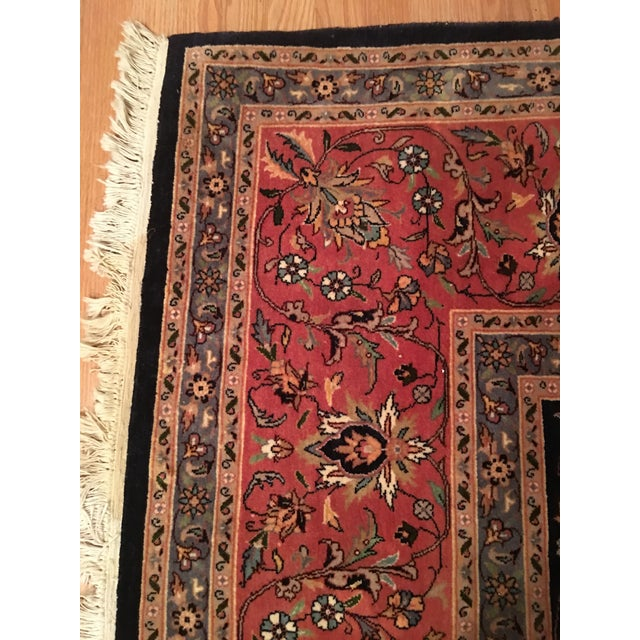 "Vintage Persian Area Rug - 9'x12'7"" - Image 10 of 11"