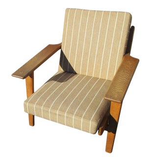 Vintage Midcentury Hans Wegner Armchair or Lounge Chair for Getama For Sale