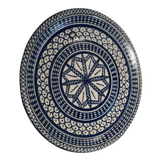 Early 20th Century Moroccan Fez Plates For Sale