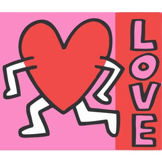 Keith Haring, Untitled, Love Art Print Poster For Sale