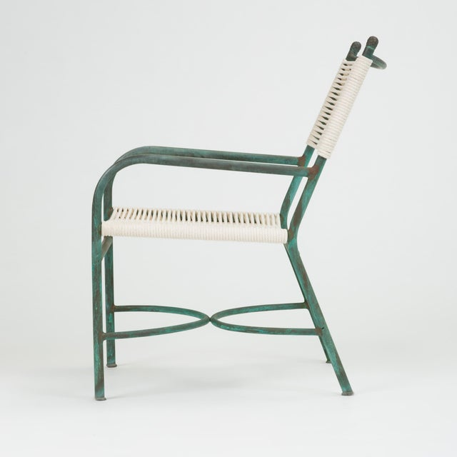Robert Lewis Bronze Patio Lounge Chair For Sale In Los Angeles - Image 6 of 13