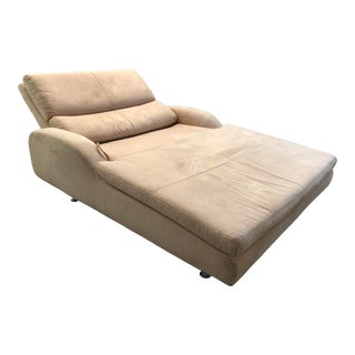 Huge W Shillig German Engineered Microfiber Daybed Chair For Sale