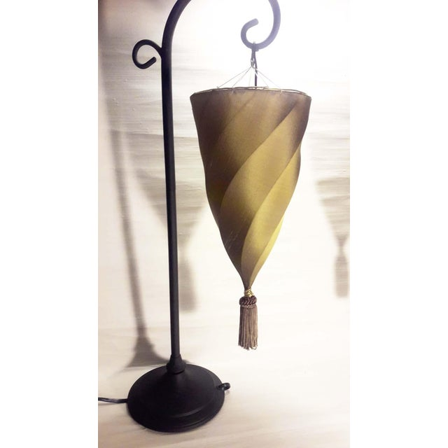 Contemporary silk cesendello spiral hanging light table lamps a contemporary silk cesendello spiral hanging light table lamps a pair for sale image 4 aloadofball Choice Image