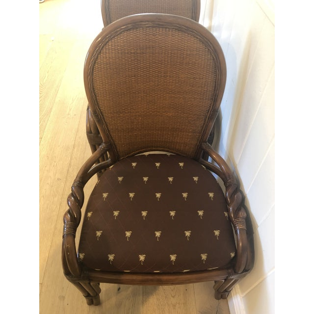 1980s Vintage Palecek Twisted Side Chair- Set of 4 For Sale In Los Angeles - Image 6 of 13