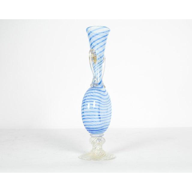 Murano Murano Glass Decorative Bud Vase For Sale - Image 4 of 5