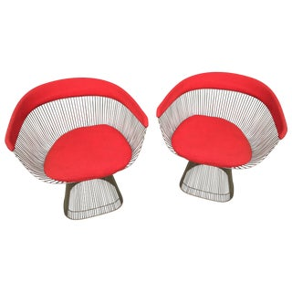 Mid-Century Platner Chairs by Knoll - A Pair For Sale