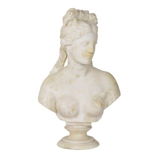 Italian 19th Century Grand Tour Marble Bust of Capitoline Venus After the Antique For Sale