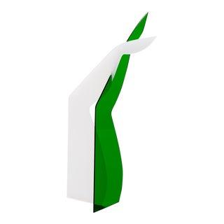 Modern Plexi Standing Sculpture For Sale