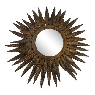 Vintage Italian Metal Starburst For Sale