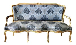 Image of Gold Leaf Settees