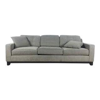 Contemporary Three-Cushion Sofa