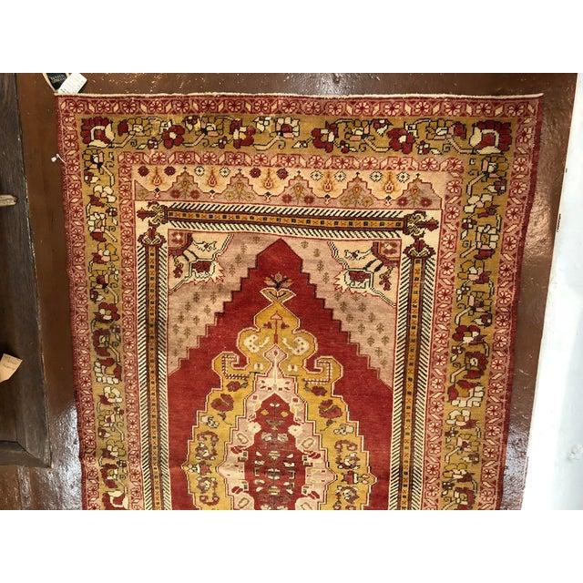 Oushak rug made of wool from turkey. From wikipedia: historically Oushaks were classified as 'anatolian rugs,' anatolian...