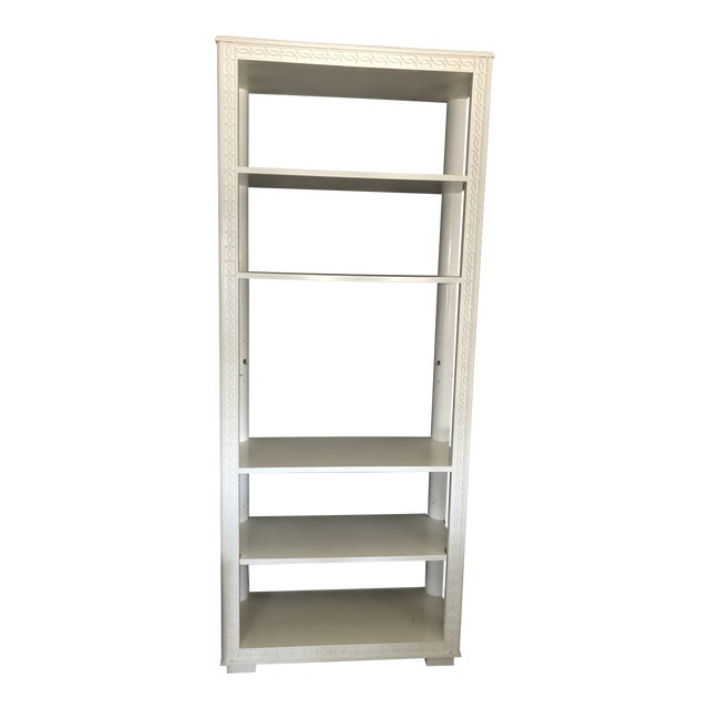 English Country Style Bookcase Étagère For Sale