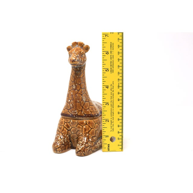 Vintage Giraffe Lidded Dish For Sale In Tampa - Image 6 of 8