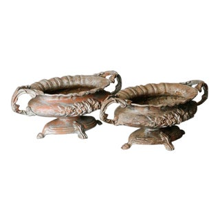 Pair of French Spelter Jardinieres For Sale