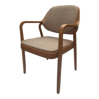 Don Pettit for Knoll International Bentwood Arm / Desk Chair For Sale