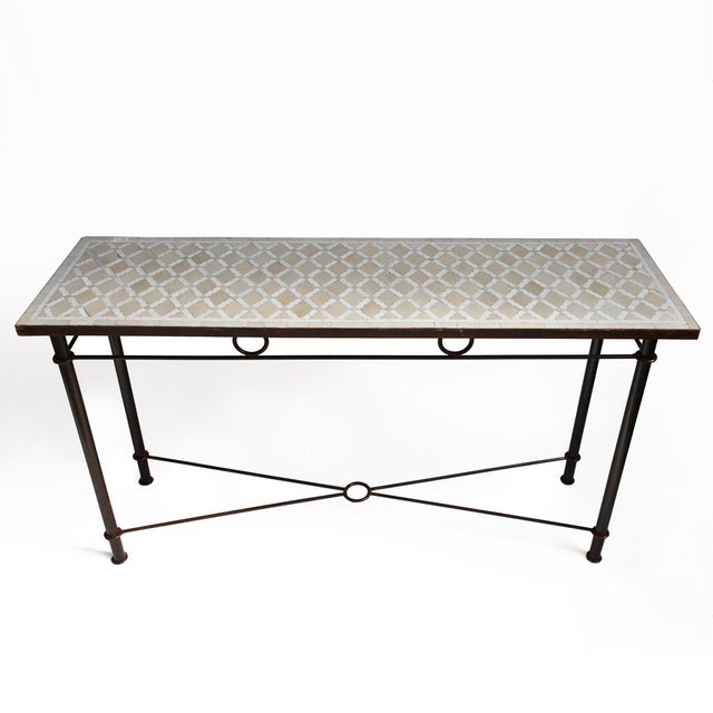 Outdoor Mosaic Console Table - Image 2 of 3