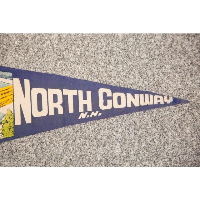North Conway, NH Felt Flag - Image 3 of 3