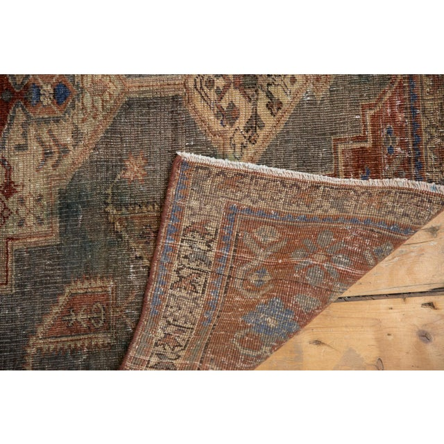 """Farmhouse Vintage Distressed Northwest Persian Rug - 4'3"""" X 6'3"""" For Sale - Image 3 of 13"""