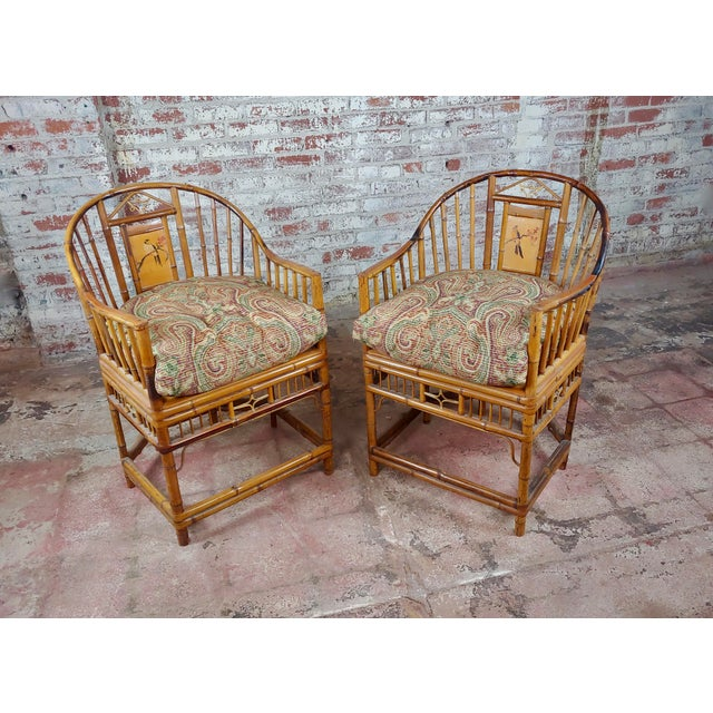 Brighton Pavilion Chinoiserie Chippendale Bamboo Armchairs Circa 1920s - A Pair For Sale - Image 10 of 10