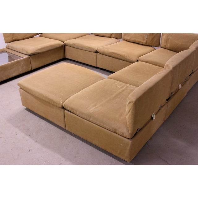 1970s 1970s Adrian Pearsall Modular Sectional Sofa for Craft Associates For Sale - Image 5 of 13