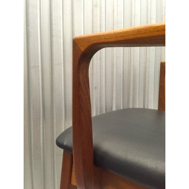 Svegards Marka Teak Dining Chairs - Set of 4 - Image 7 of 11
