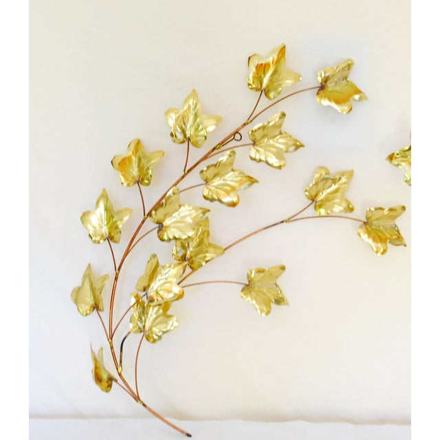 Mid-Century Copper & Gold Tone Wall Hanging - Image 3 of 4