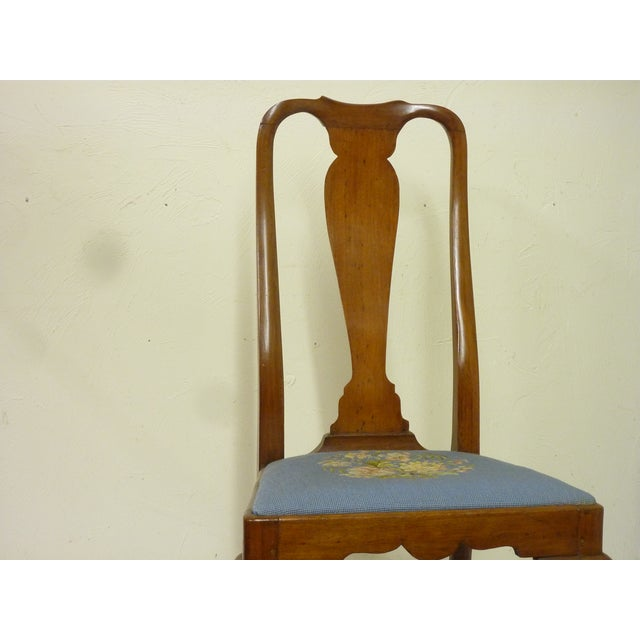 American 18th Century American Sidechair For Sale - Image 3 of 9