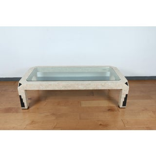 Vintage Rectangular Tessellated Stone Coffee Table Preview